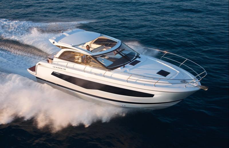 Leader 46 │ Leader de 14m │ Bateaux powerboat Jeanneau  20053