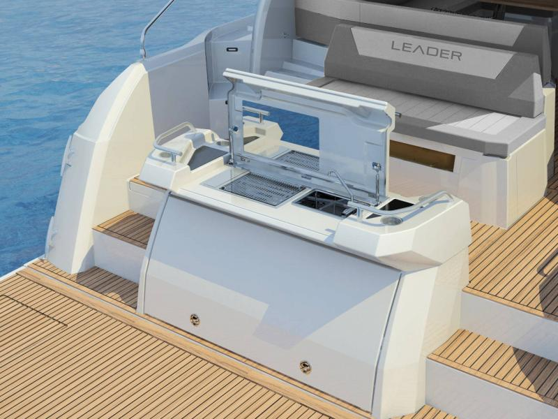 Leader 46 │ Leader of 14m │ Boat powerboat Jeanneau Aft Platform 18472