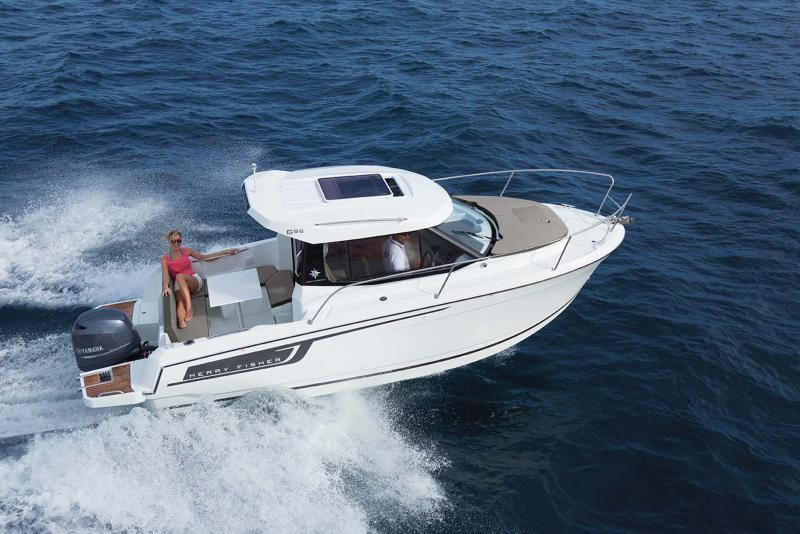 Merry Fisher 695 │ Merry Fisher of 7m │ Boat Outboard Jeanneau  10394
