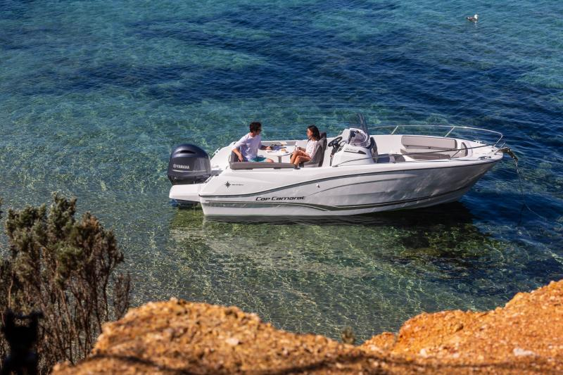 Cap Camarat 6.5 CC série3 │ Cap Camarat Center Console of 7m │ Boat powerboat Jeanneau  17160