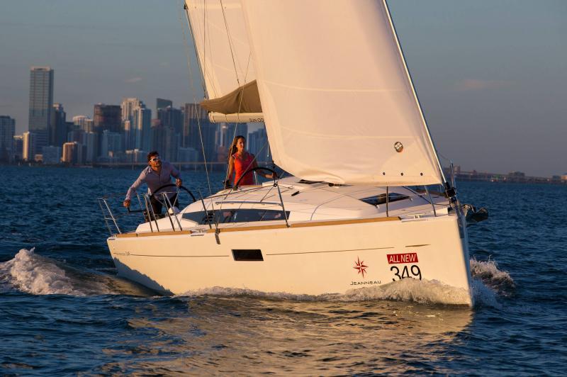 Sun Odyssey 349 │ Sun Odyssey of 10m │ Boat Sailboat Jeanneau  19143