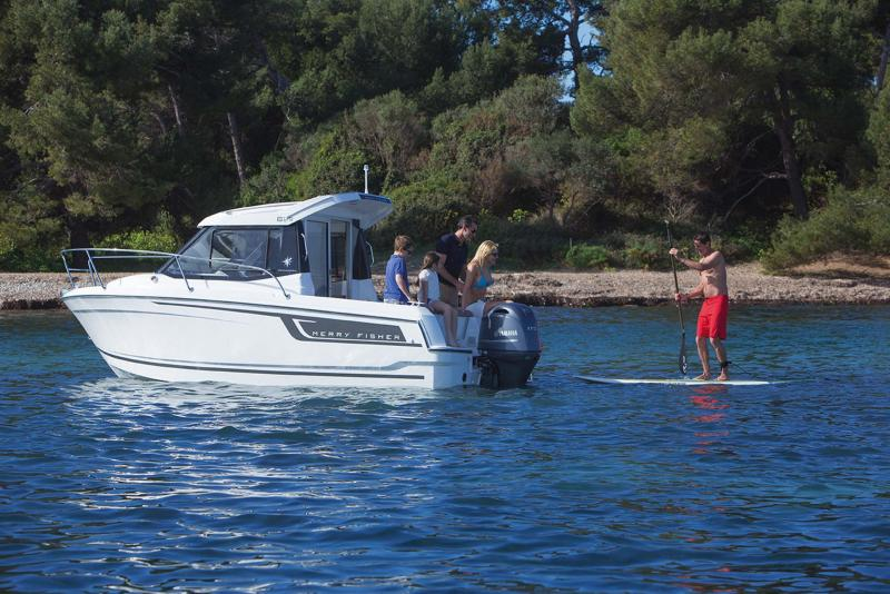 Merry Fisher 605 │ Merry Fisher of 6m │ Boat Outboard Jeanneau  10382