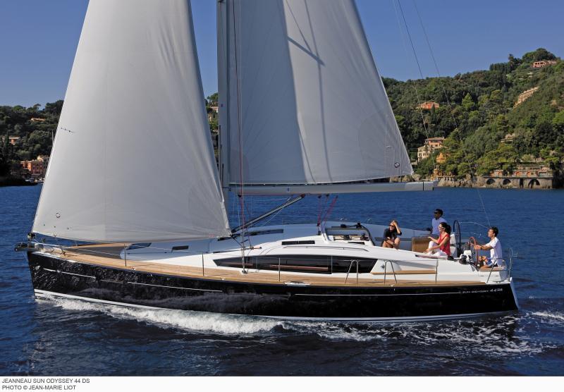 Sun Odyssey 44 DS │ Sun Odyssey DS of 13m │ Boat Sailboat Jeanneau boat Sun-Odyssey-DS-44DS 383