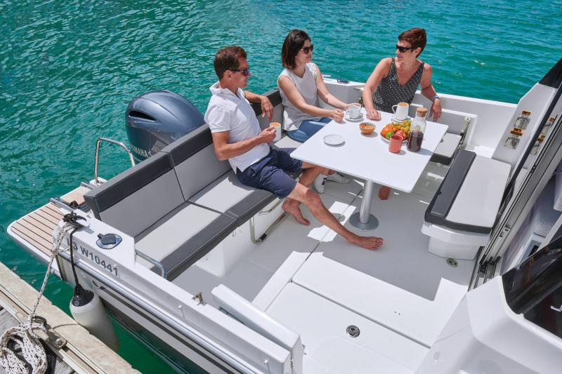 NC 795 Series 2 │ NC Weekender of 8m │ Boat powerboat Jeanneau  21748