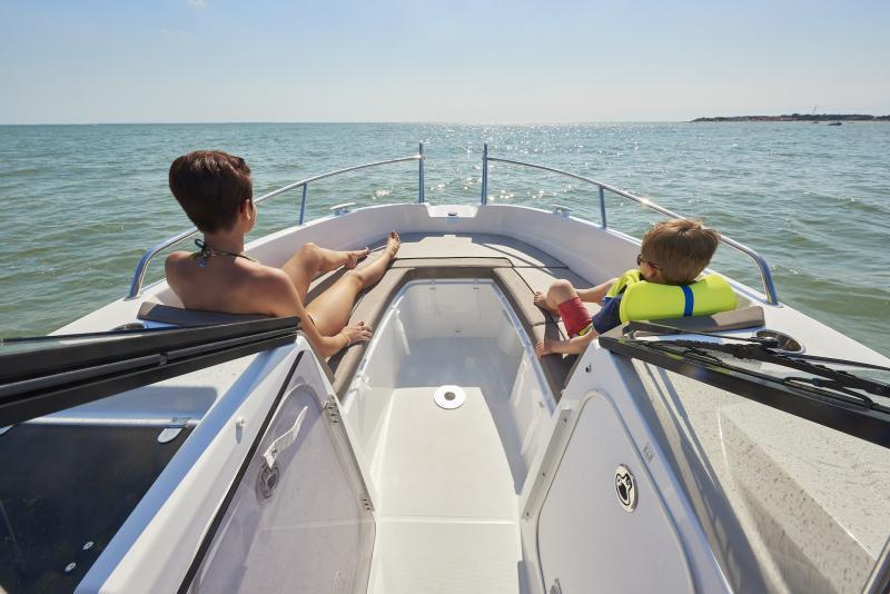 CAP CAMARAT 6.5 BR │ Cap Camarat Bow Rider of 6m │ Boat powerboat Jeanneau CAP CAMARAT 6.5 BR 3036