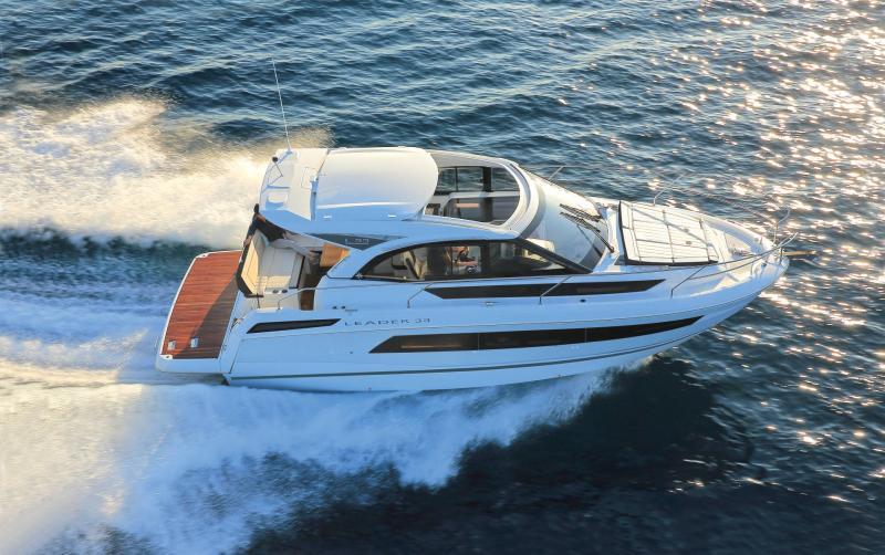 Leader 33 │ Leader de 11m │ Bateaux powerboat Jeanneau  18293