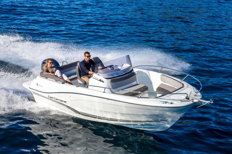 Cap Camarat 6.5 CC série3 │ Cap Camarat Center Console of 7m │ Boat powerboat Jeanneau  17163