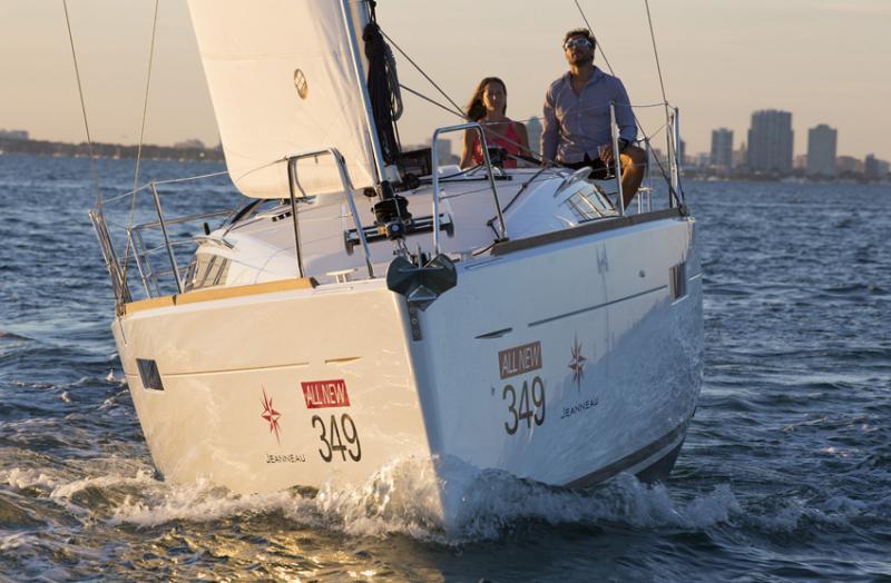 Sun Odyssey 349 │ Sun Odyssey of 10m │ Boat Sailboat Jeanneau boat Sun-Odyssey-349 932