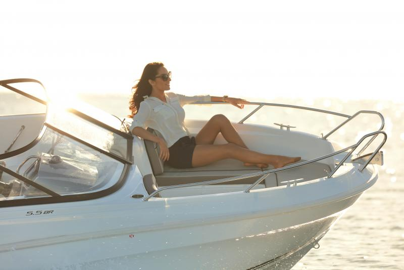 CAP CAMARAT 5.5 BR │ Cap Camarat Bow Rider of 5m │ Boat Outboard Jeanneau CAP CAMARAT 5.5 BR 4818