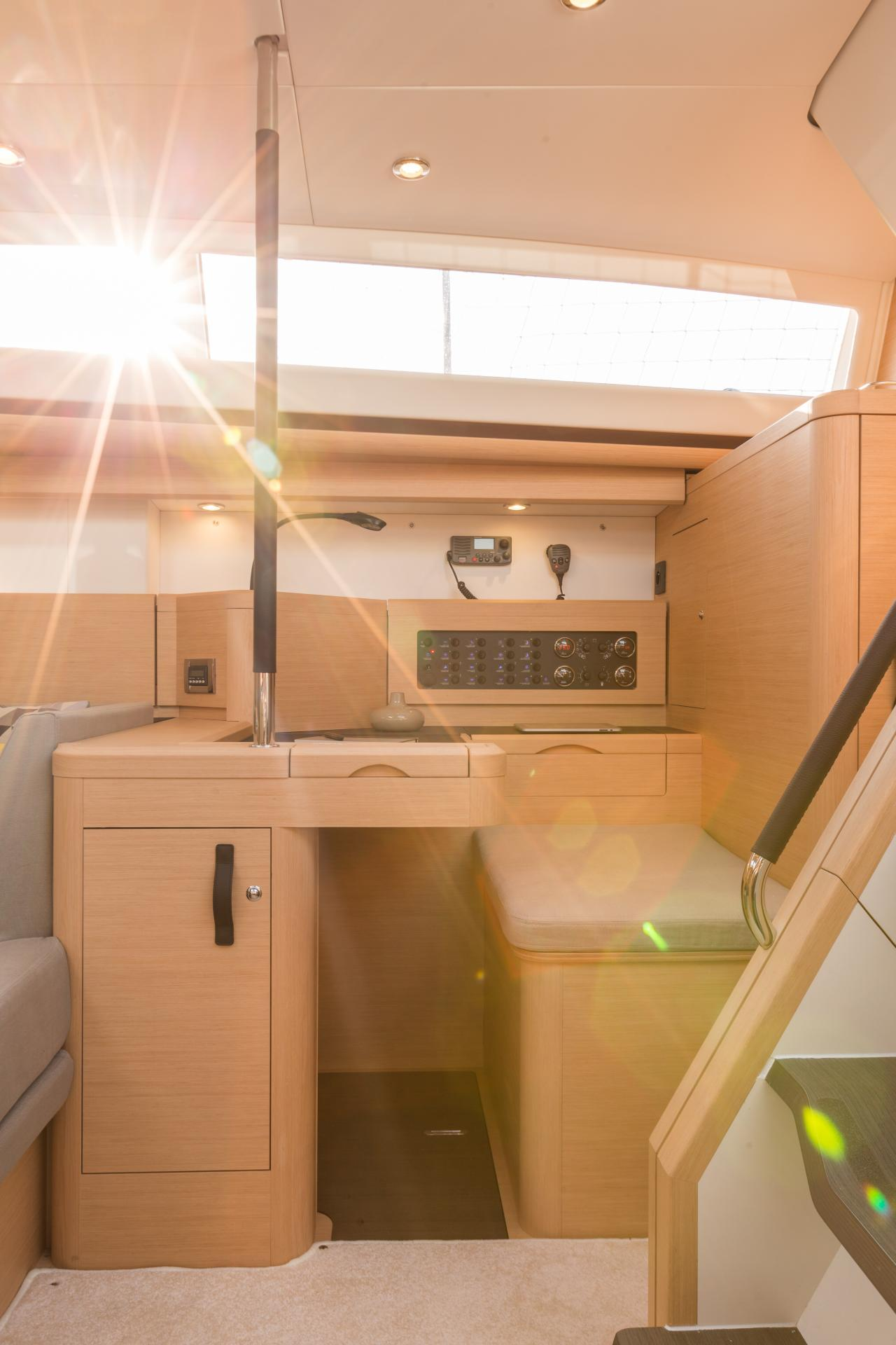 Discover The Bright, All New Interior Design Of The Jeanneau 57!