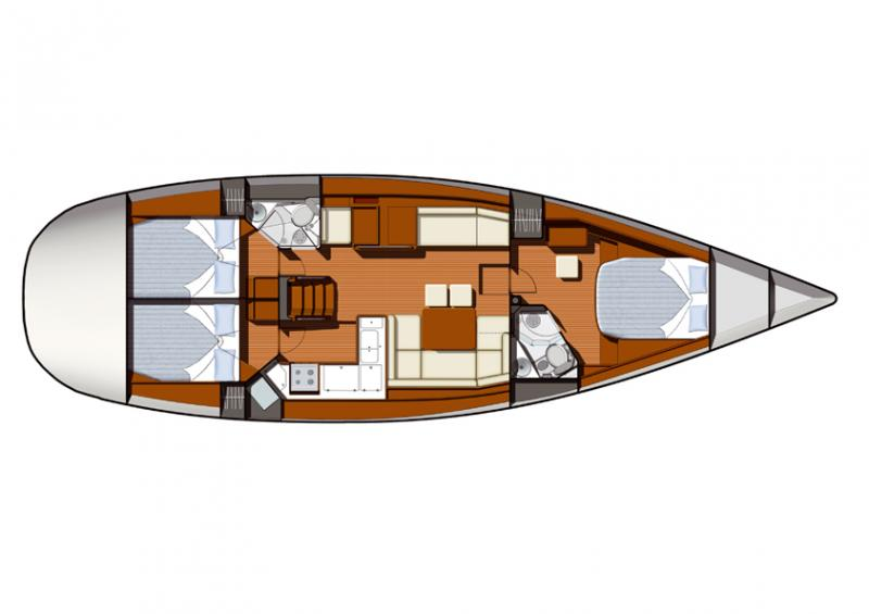 Sun Odyssey 50 DS │ Sun Odyssey DS of 15m │ Boat Sailboat Jeanneau boat Sun-Odyssey-DS-50DS 180
