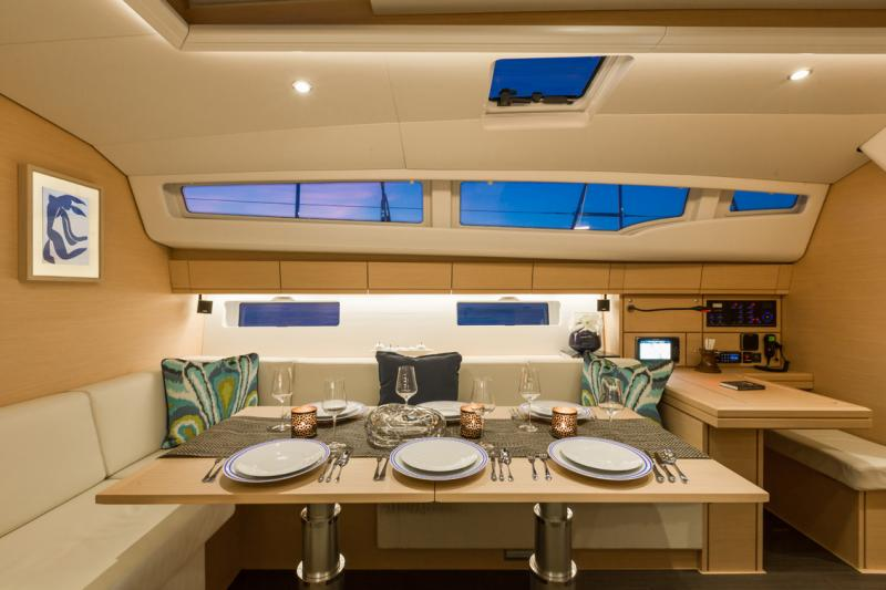 Jeanneau 54 Interior Views 2