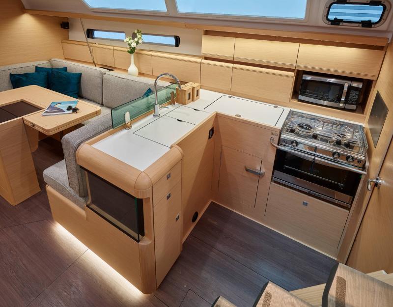 Sun Odyssey 449 │ Sun Odyssey of 14m │ Boat Sailboat Jeanneau  19514