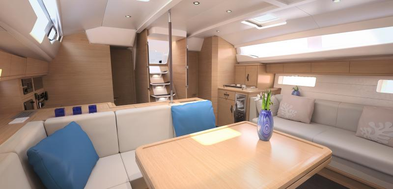 Jeanneau 54 Interior Views 46