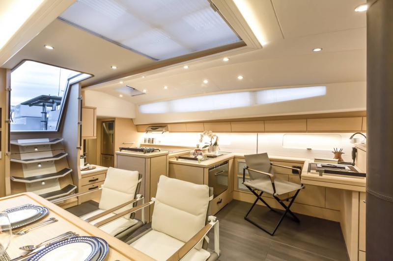 Jeanneau 64 Interior Views 63