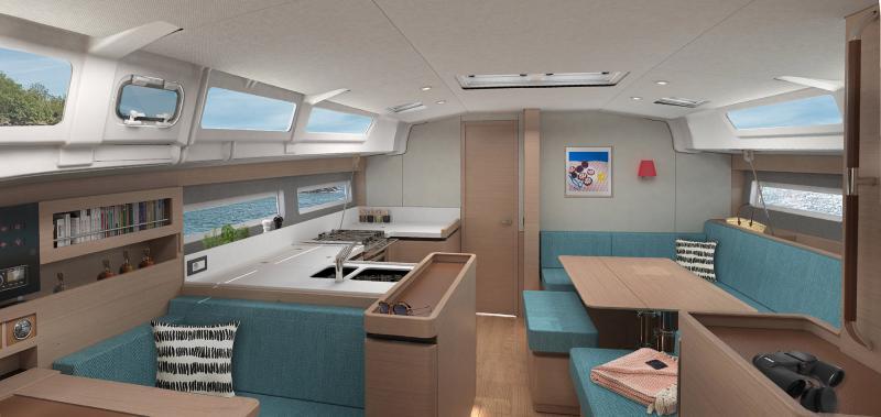 Sun Odyssey 490 Interior Views 11