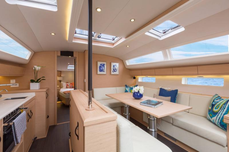 Jeanneau 54 Interior Views 13