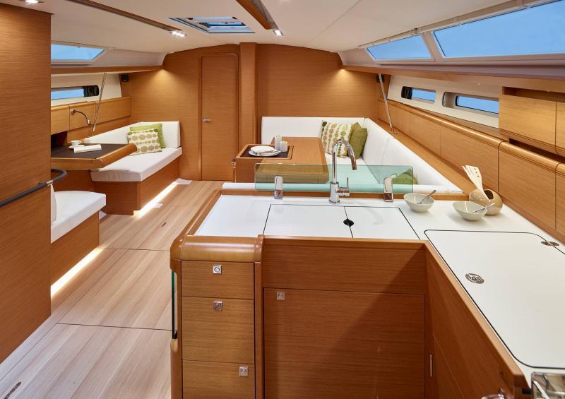 Sun Odyssey 449 │ Sun Odyssey of 14m │ Boat Veleros Jeanneau  13201