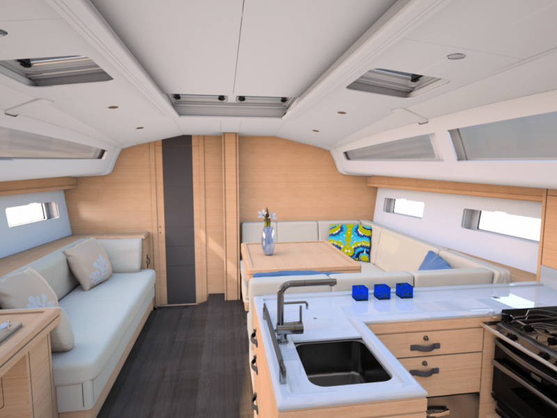 Jeanneau 51 Interior Views 28