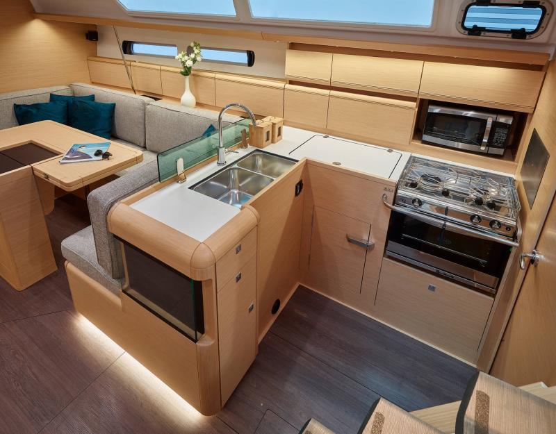 Sun Odyssey 449 │ Sun Odyssey of 14m │ Boat Barche a vela Jeanneau  13186