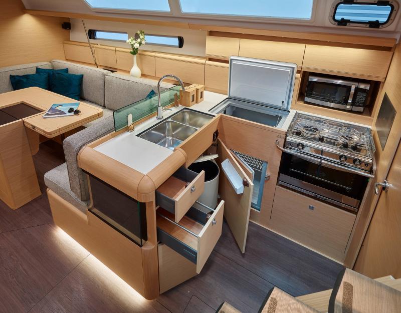 Sun Odyssey 449 │ Sun Odyssey of 14m │ Boat Barche a vela Jeanneau  13196
