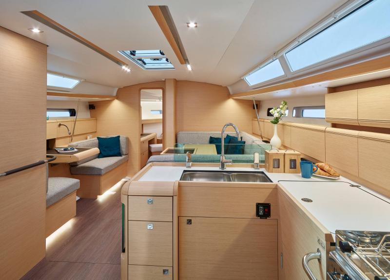 Sun Odyssey 449 │ Sun Odyssey of 14m │ Boat Barche a vela Jeanneau  13195