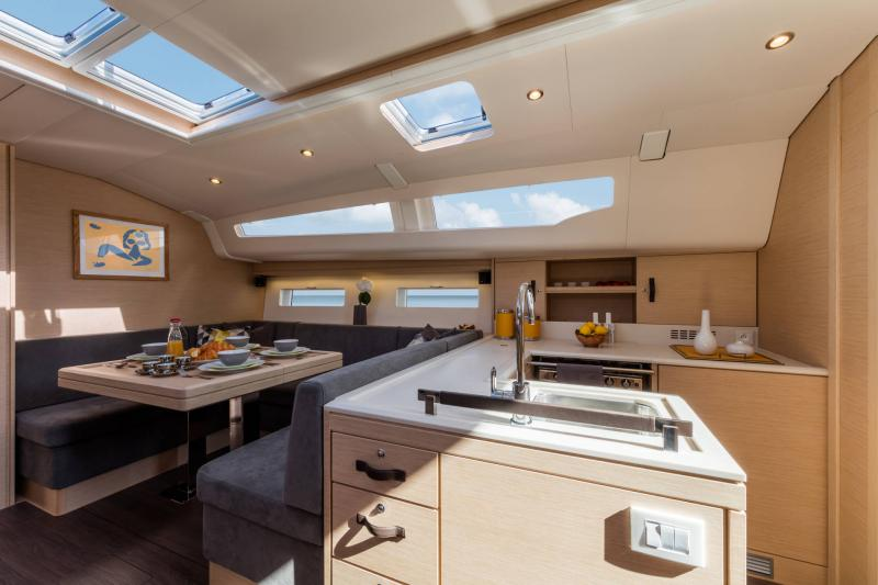 Jeanneau 51 Interior Views 1
