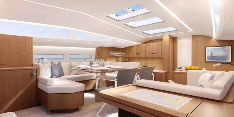 Jeanneau Yachts 60 │ Jeanneau Yachts of 18m │ Boat Sailboat Jeanneau  20842