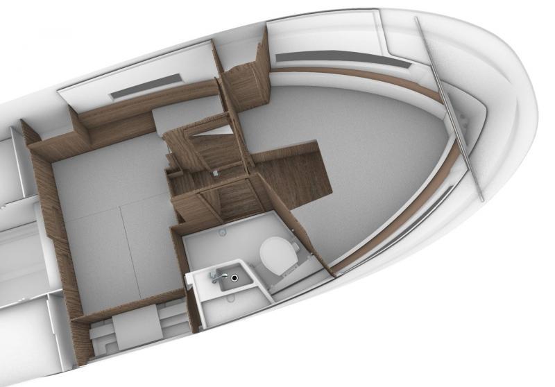 NC 895 Sport Interior Views 1