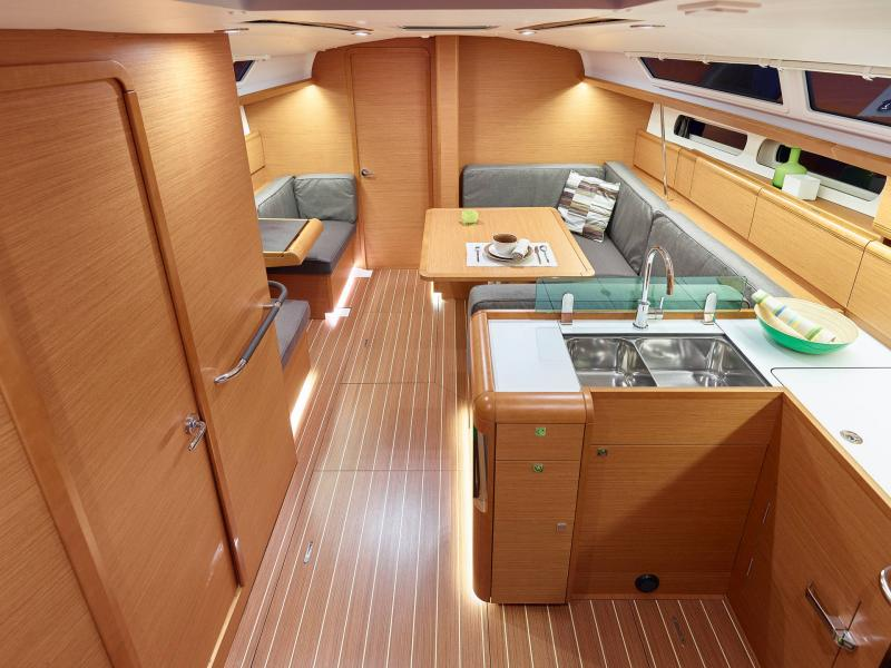 Sun Odyssey 419 │ Sun Odyssey of 13m │ Boat Yelkenli̇ Jeanneau  19390