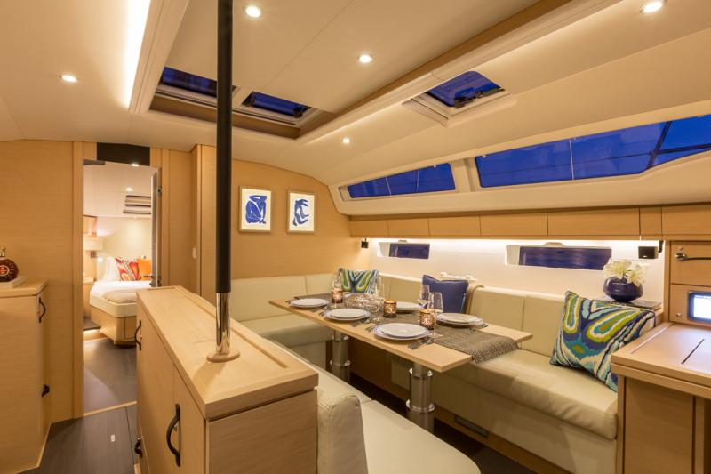 Jeanneau 54 Interior Views 1
