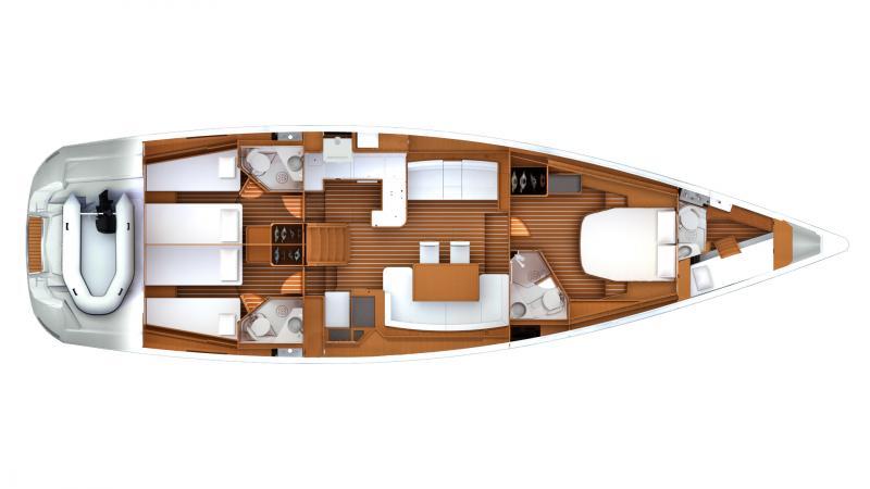 Jeanneau 57 │ Jeanneau Yachts of 18m │ Boat Sailboat Jeanneau boat jeanneau_yacht-jeanneau-57 177