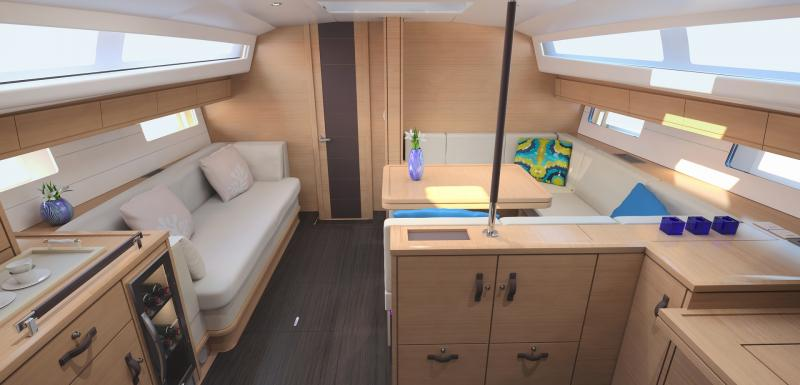 Jeanneau 54 Interior Views 44