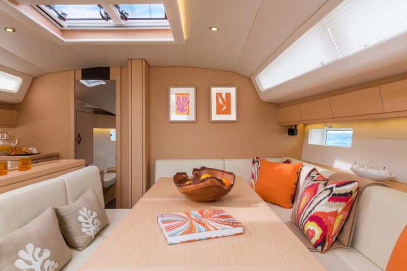 Jeanneau 54 Interior Views 8