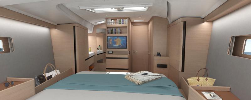 Sun Odyssey 490 Interior Views 14
