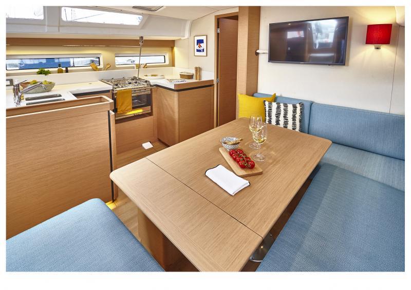 Sun Odyssey 490 Interior Views 1