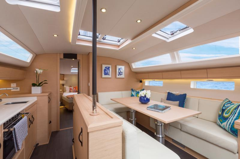 Jeanneau 54 Interior Views 40