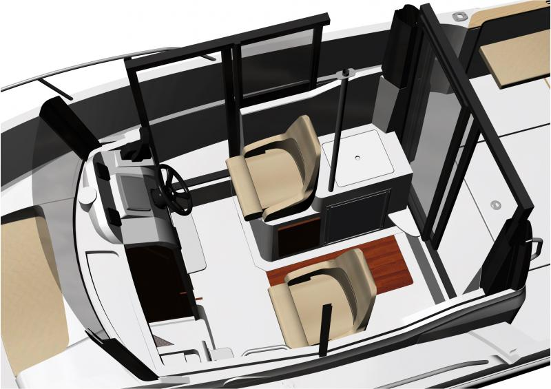 Merry Fisher 695 Marlin Interior Views 1