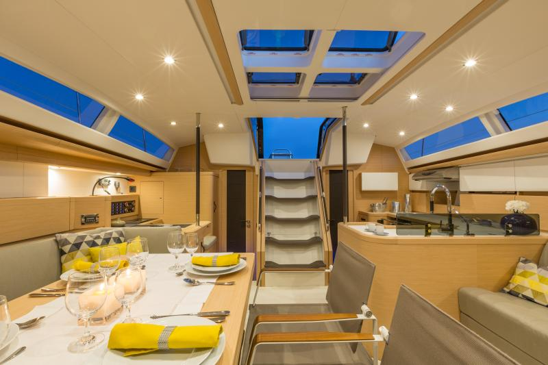Jeanneau 58 Interior Views 8