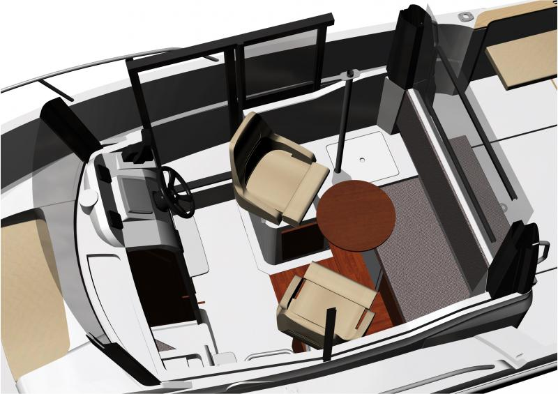 Merry Fisher 695 Marlin Interior Views 2