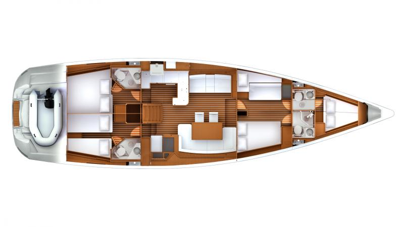 Jeanneau 57 │ Jeanneau Yachts of 18m │ Boat Sailboat Jeanneau boat jeanneau_yacht-jeanneau-57 175