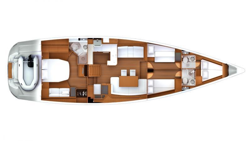 Jeanneau 57 │ Jeanneau Yachts of 18m │ Boat Sailboat Jeanneau boat jeanneau_yacht-jeanneau-57 174