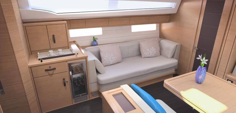 Jeanneau 54 Interior Views 45