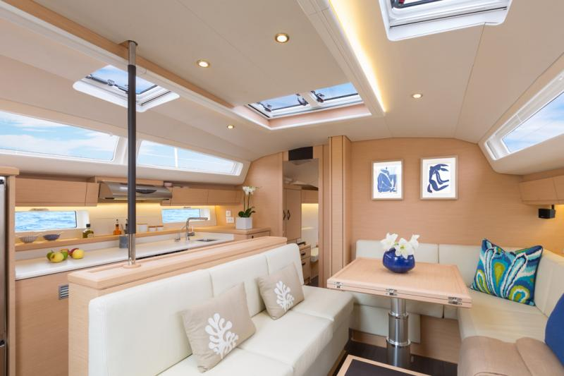 Jeanneau 54 Interior Views 39
