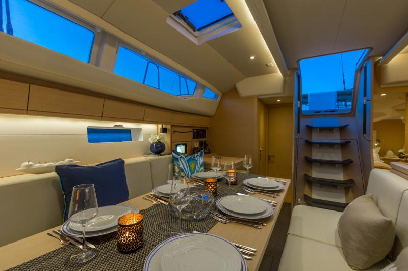Jeanneau 54 Interior Views 3