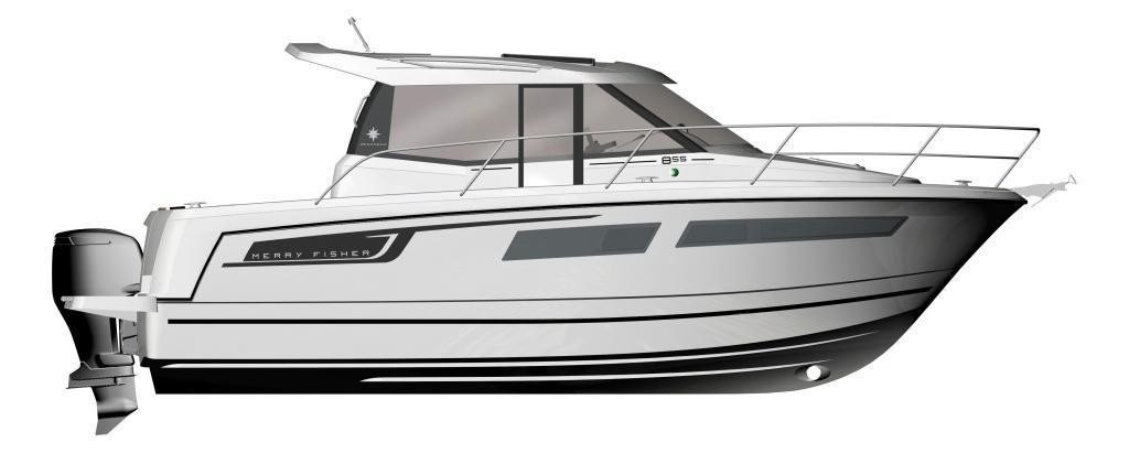 Merry Fisher 855   Jeanneau Boats