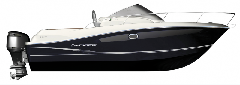 Cap Camarat 8.5 WA │ Cap Camarat Walk Around of 8m │ Boat powerboat Jeanneau  4351