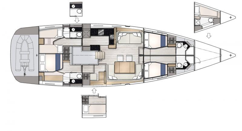 Jeanneau Yachts 65 │ Jeanneau Yachts of 21m │ Boat Sailboat Jeanneau  22966
