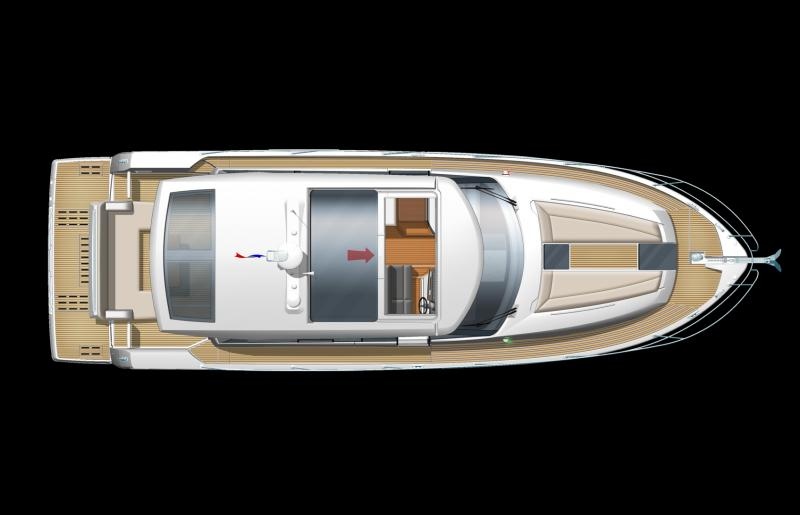 NC 14 │ NC of 14m │ Boat powerboat Jeanneau barche plans 639