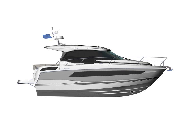 NC 33 │ NC of 11m │ Boat powerboat Jeanneau  9418